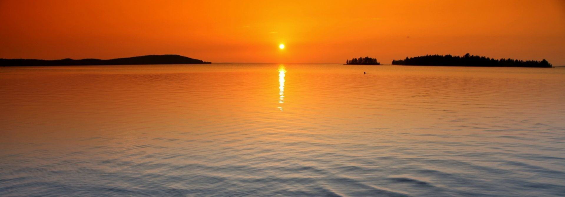 2 orange_horizon_sunset-wallpaper
